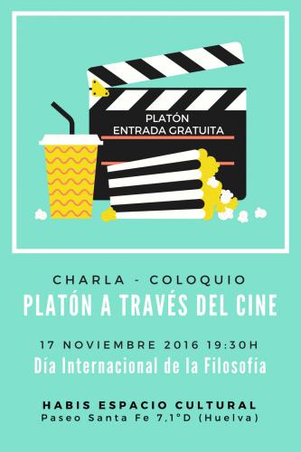 Charla Platón a través del cine